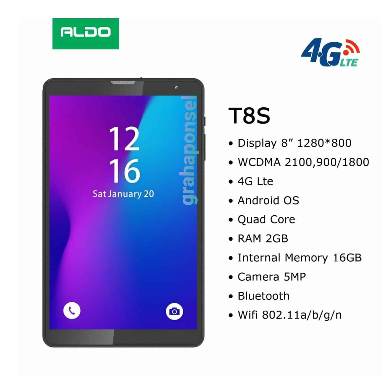 Aldo-T8S-New