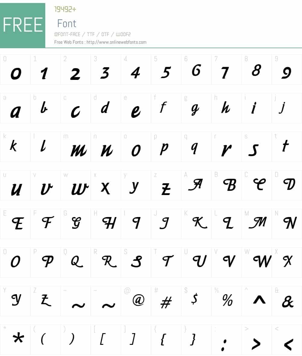 Free-Fancy-Font