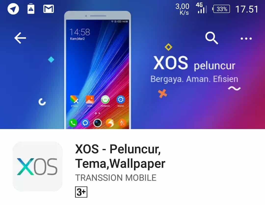 XOS-Launcher